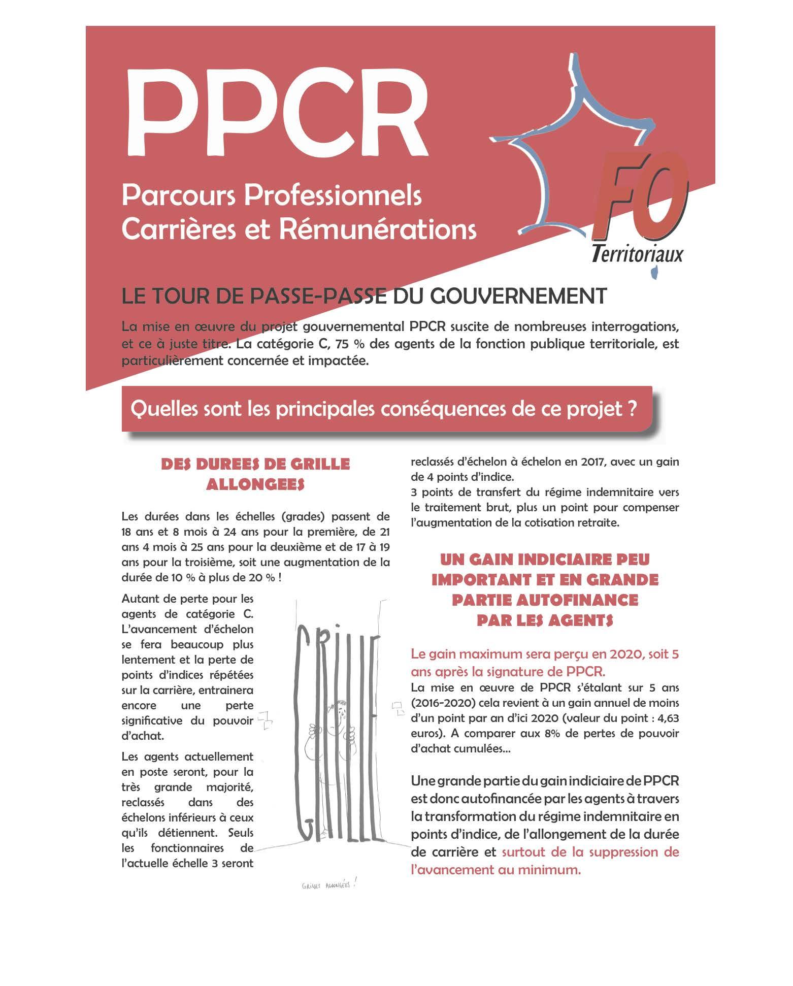 Parcours professionnels carri res r mun rations ppcr - Historique plafond de la securite sociale ...