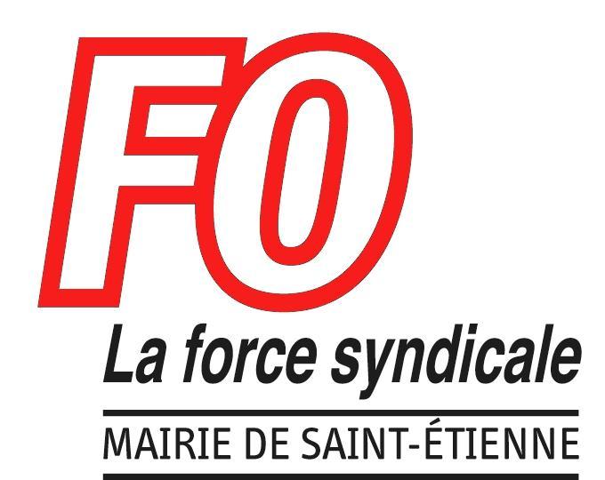 Manifestation syndicat fo mairie de saint tienne - Chambre de commerce de saint etienne ...